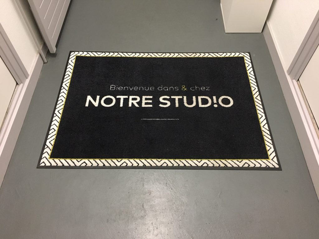 Tapis de sol Notre Studio