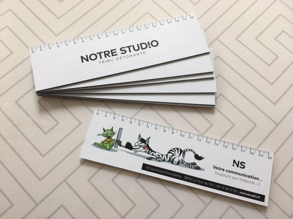 Reglettes Notre Studio