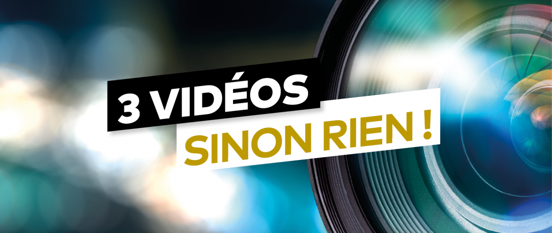 Nos vidéos du mois de Juin